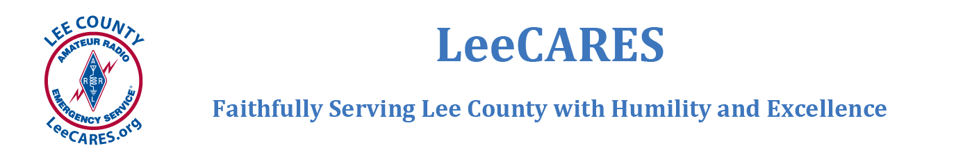 LeeCARES (Lee County Amateur Radio Emergency Services)